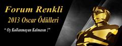 Forum Renkli 2013 Oscar �d�lleri